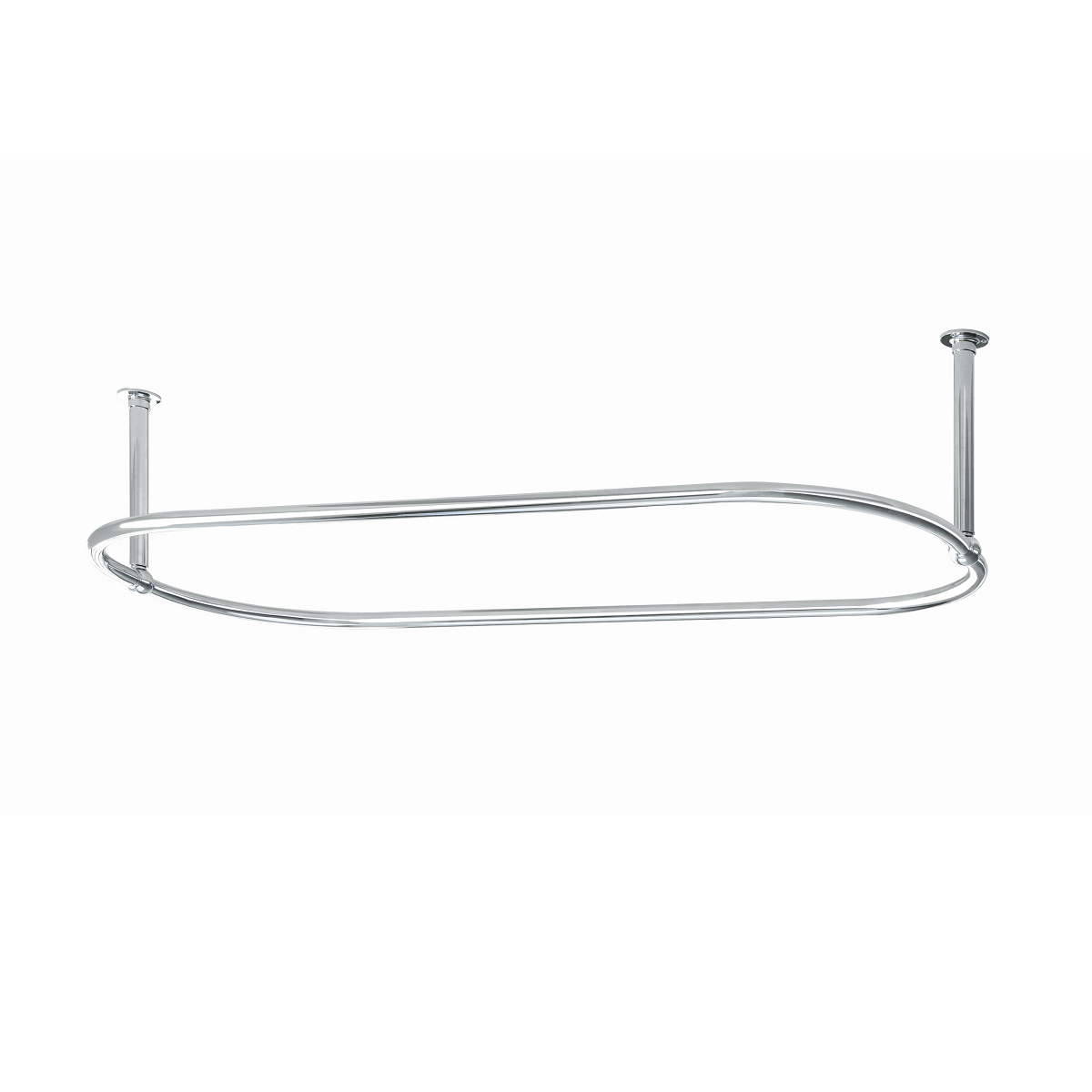 Traditional Oval 1500mm X 700mm Shower Curtain Rail