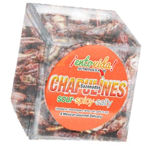 Spicy Chapulines