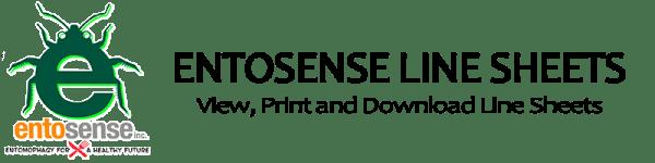 Entosense Line Sheets