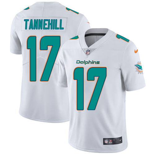 online store 40c3d 7758d Nike Dolphins #17 Ryan Tannehill White Men's Stitched NFL ...