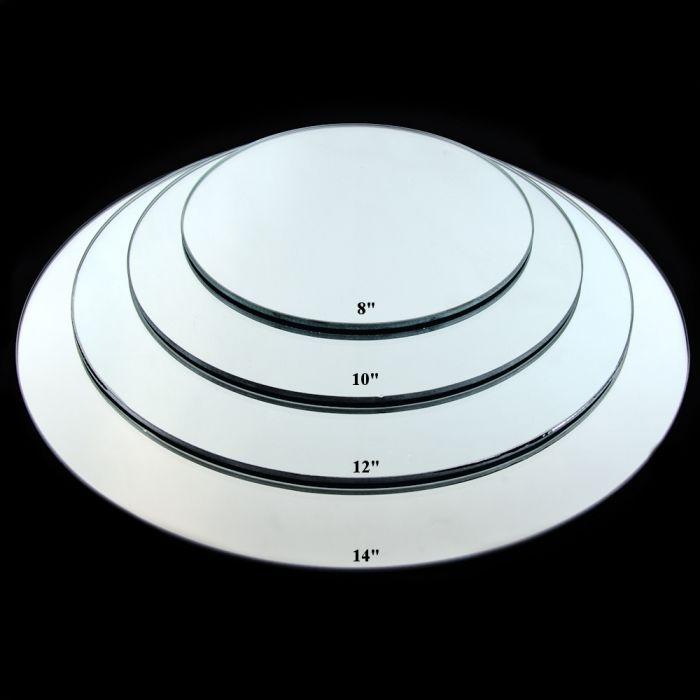round centerpiece mirror 14