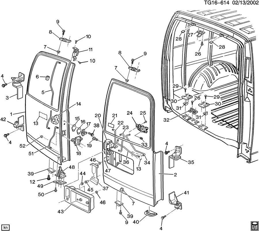 Lock Diagram 1995 Van Door Wiring Chevrolet Astro Dutch
