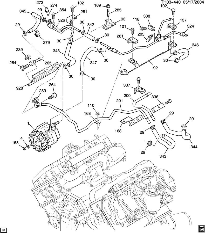 Duramax Engine Parts Diagram