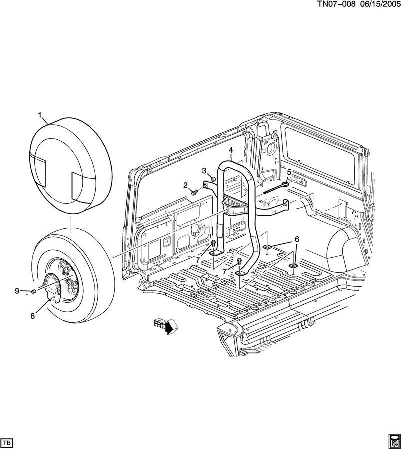 Hummer H2 Interior Parts Diagram