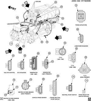 21024415  GM Connector Transmission shift brake