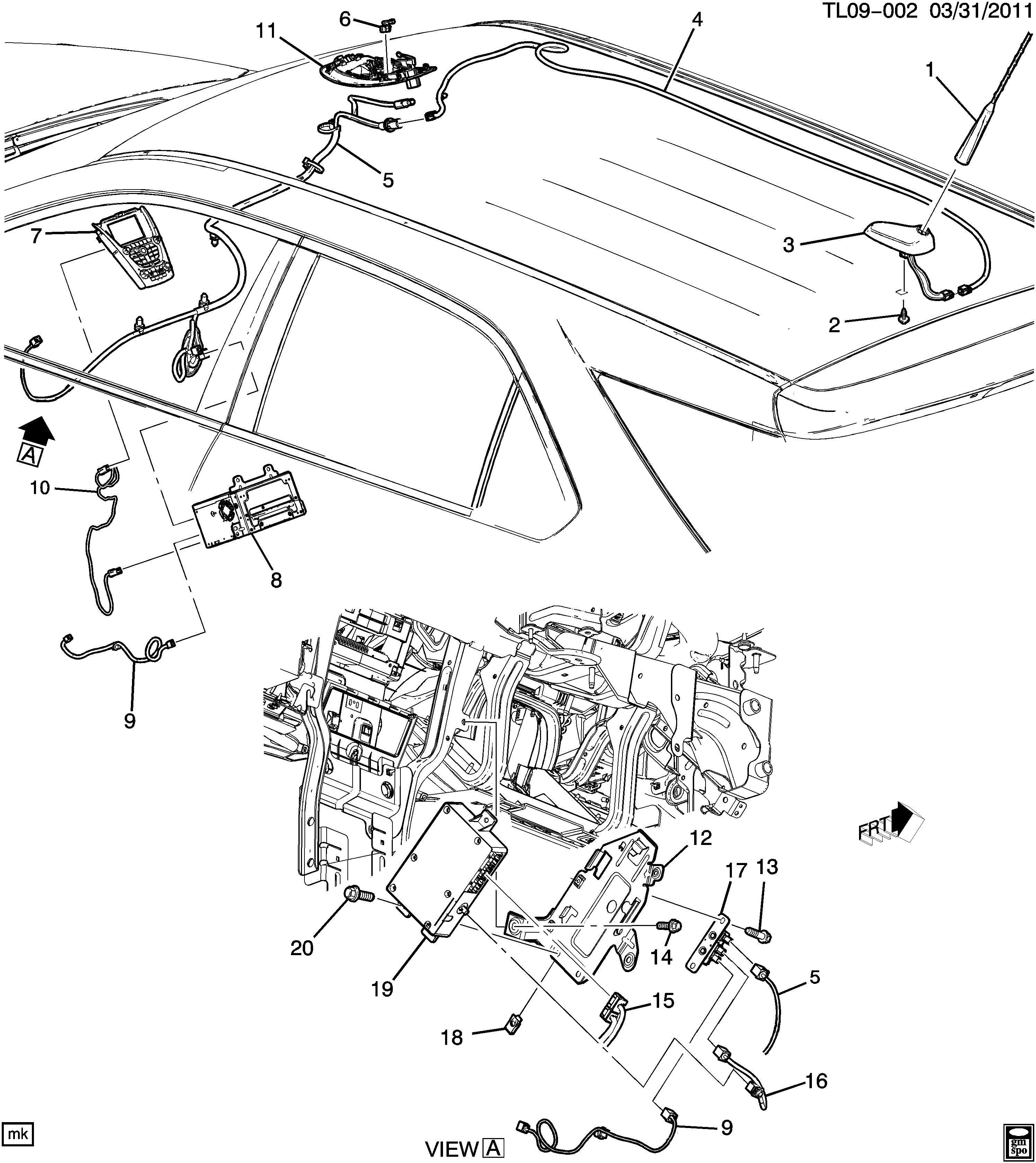 Gmc Acadia Radio Wiring Diagram Gmc Auto Fuse Box