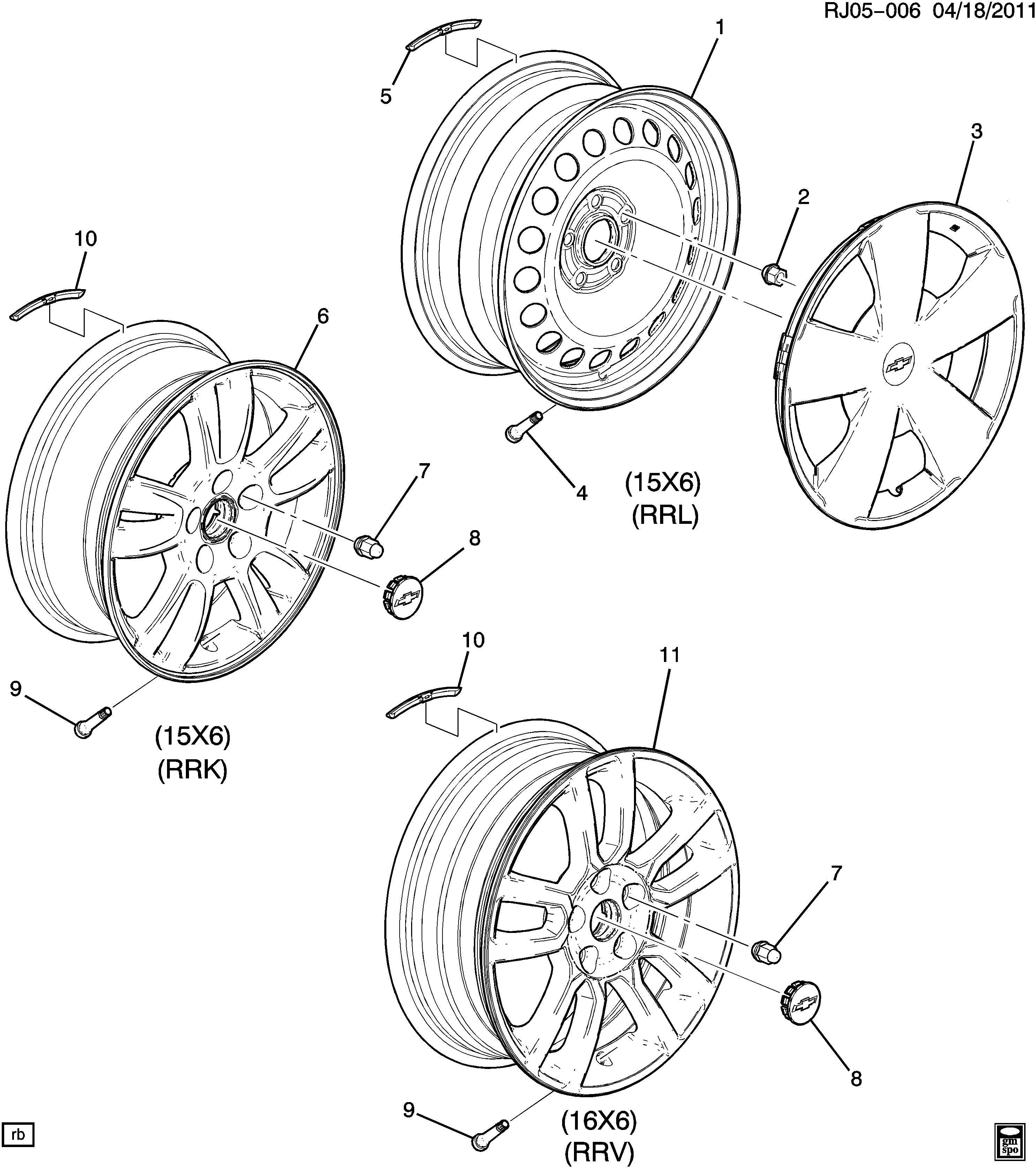 Chevrolet Cap Wheel