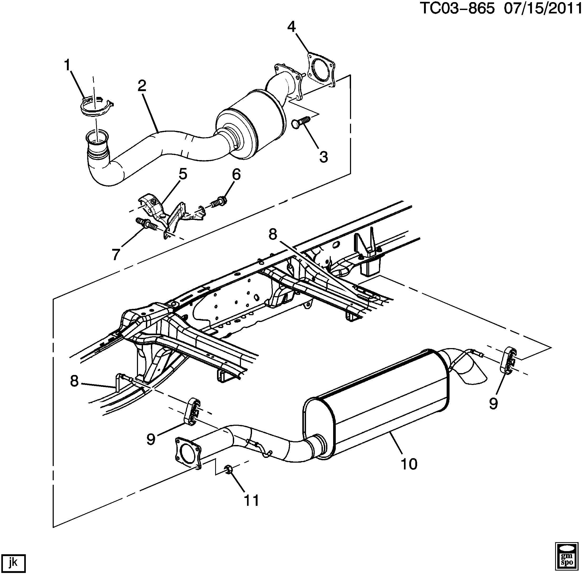 Chevrolet Silverado Converter Catalytic Converter