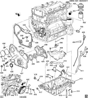 2013 Buick Regal Sensor Engine oil level Sensor, eng oil lvl(01800)(acdelco #24461500