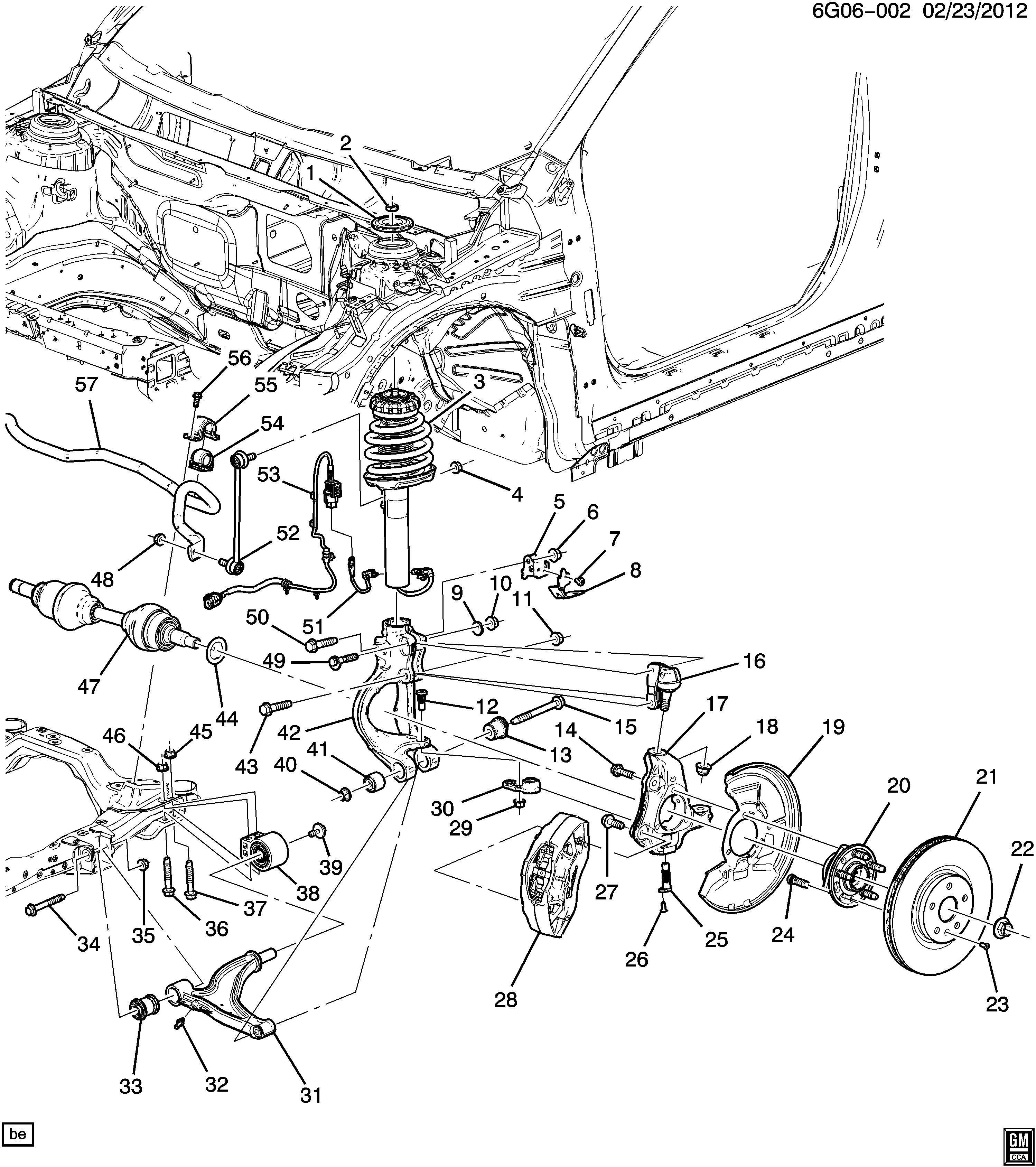 Pontiac G6 Nut Front Axle Front Wheel Drive Axle