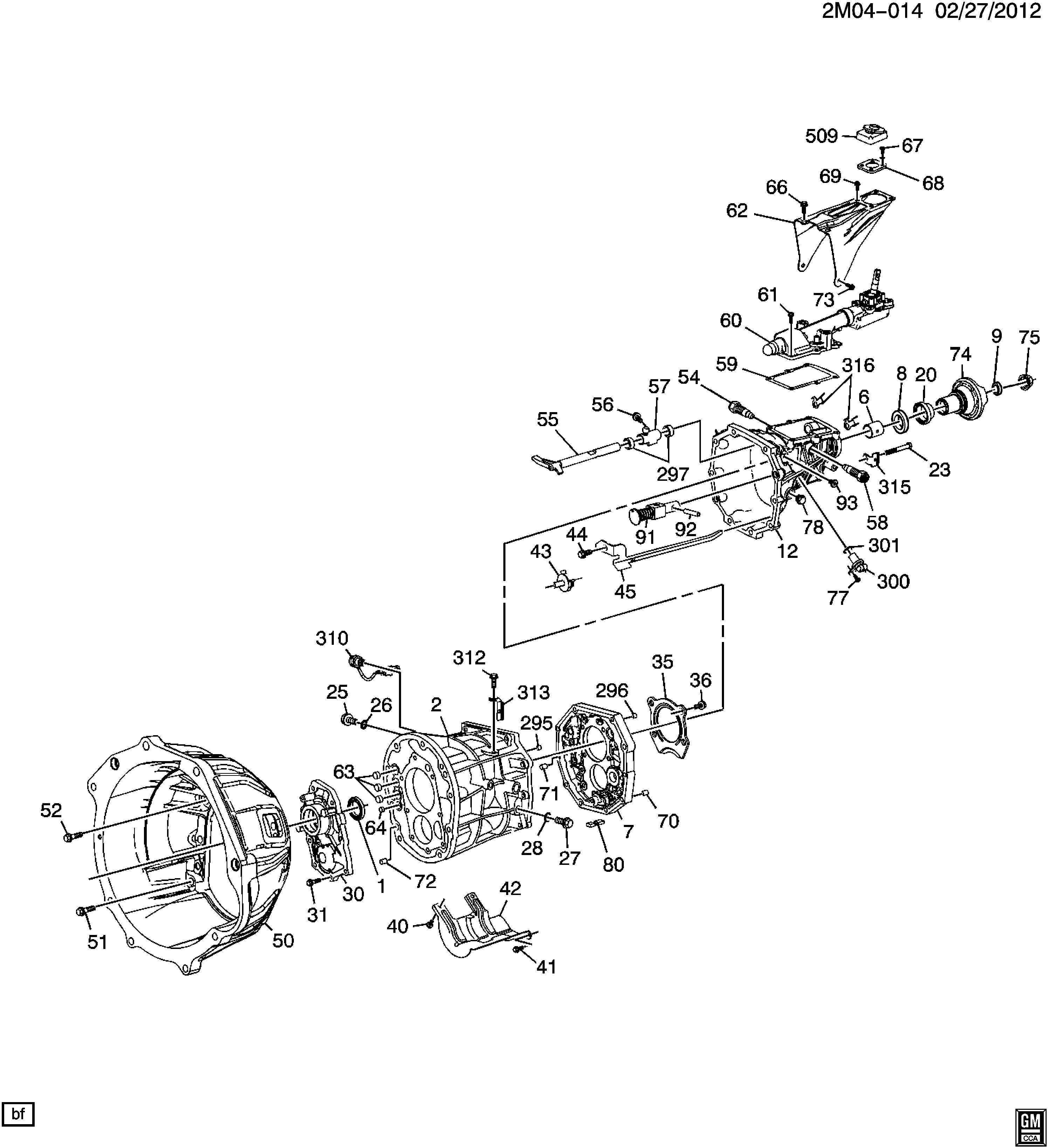 Pontiac Solstice Retainer Transmission Clutch Gear