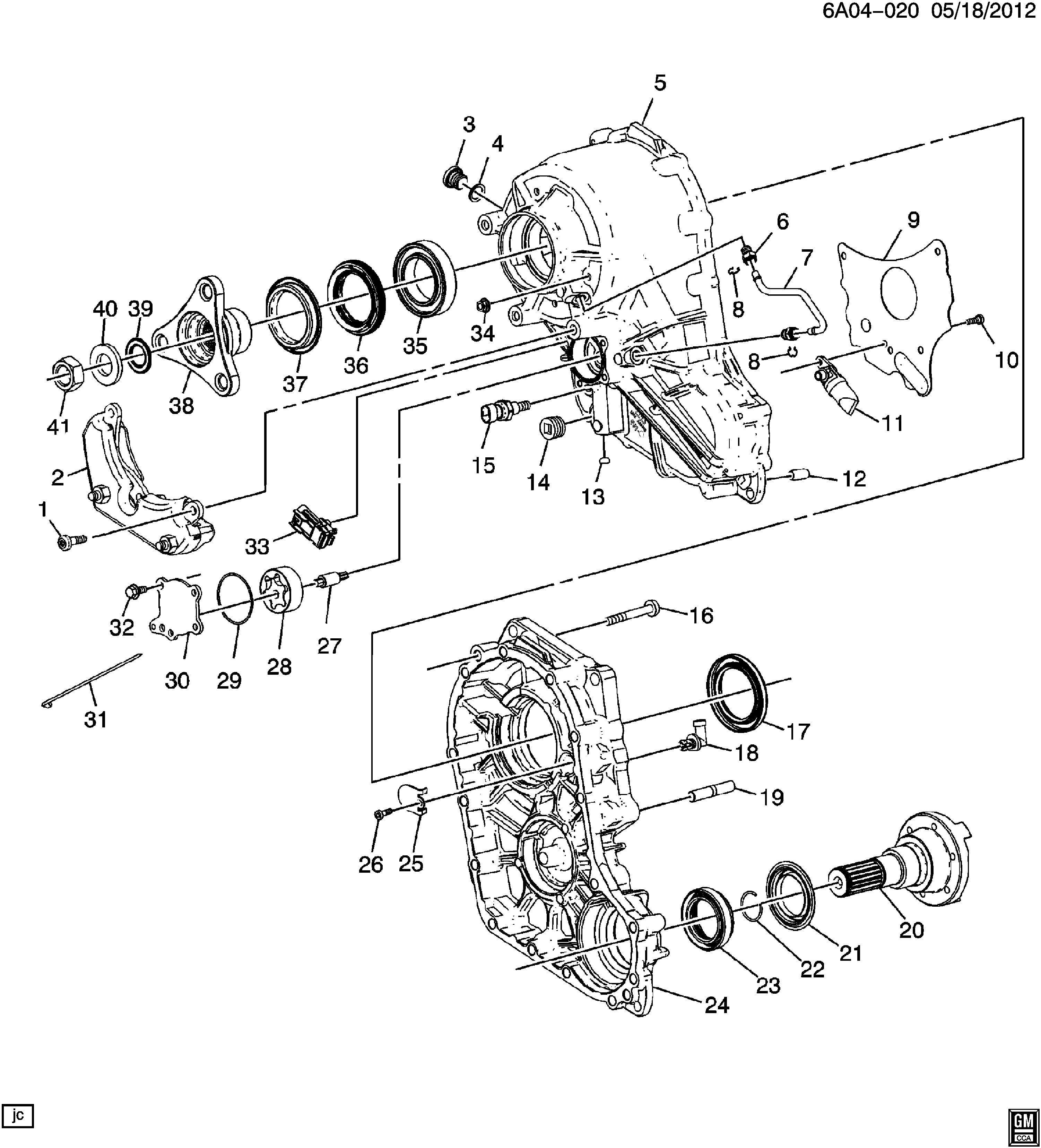 Cadillac Cts Flange Transfer Case Flange Trfer Case Rr