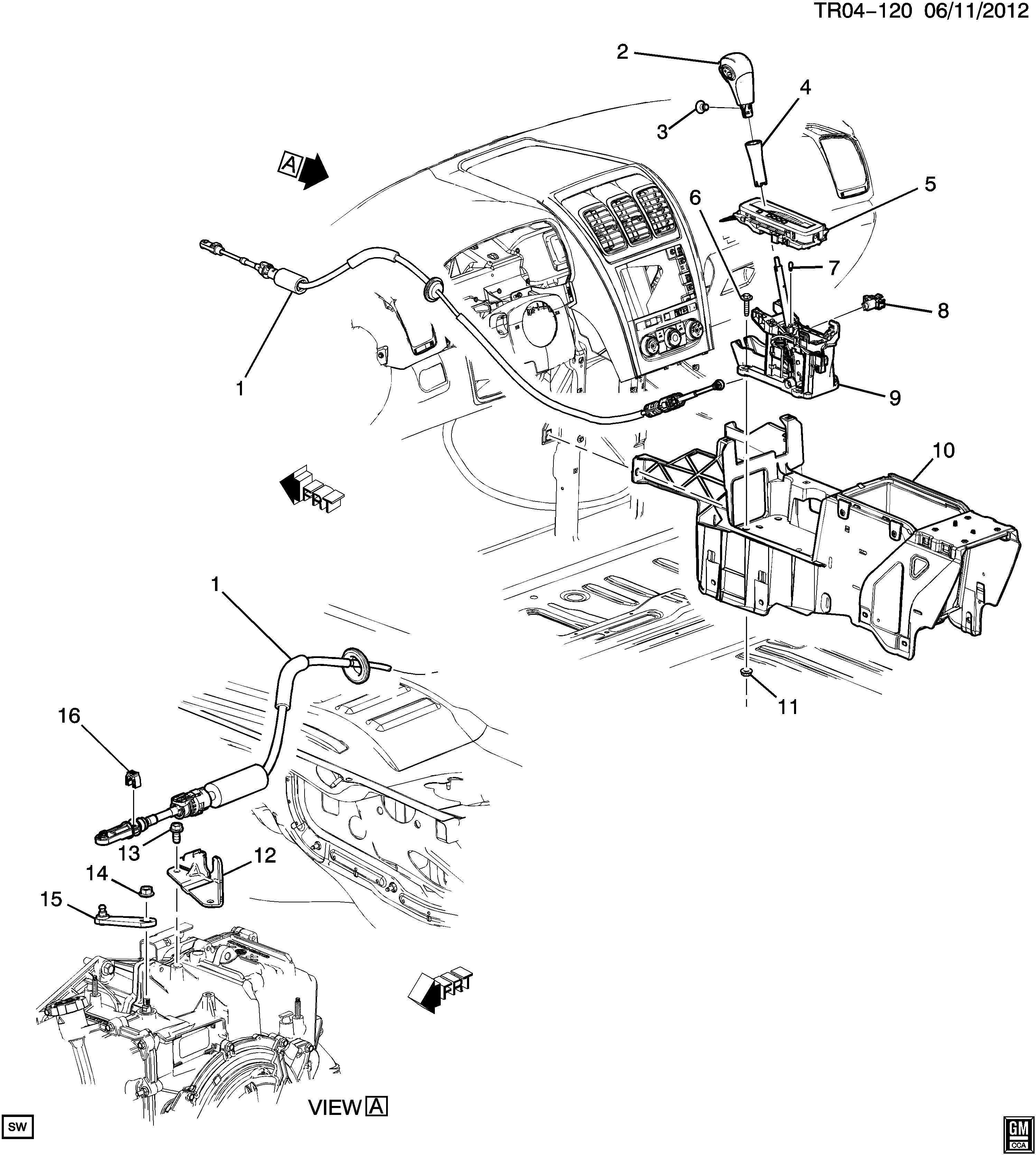 Chevrolet Solenoid Transmission Shift Brake