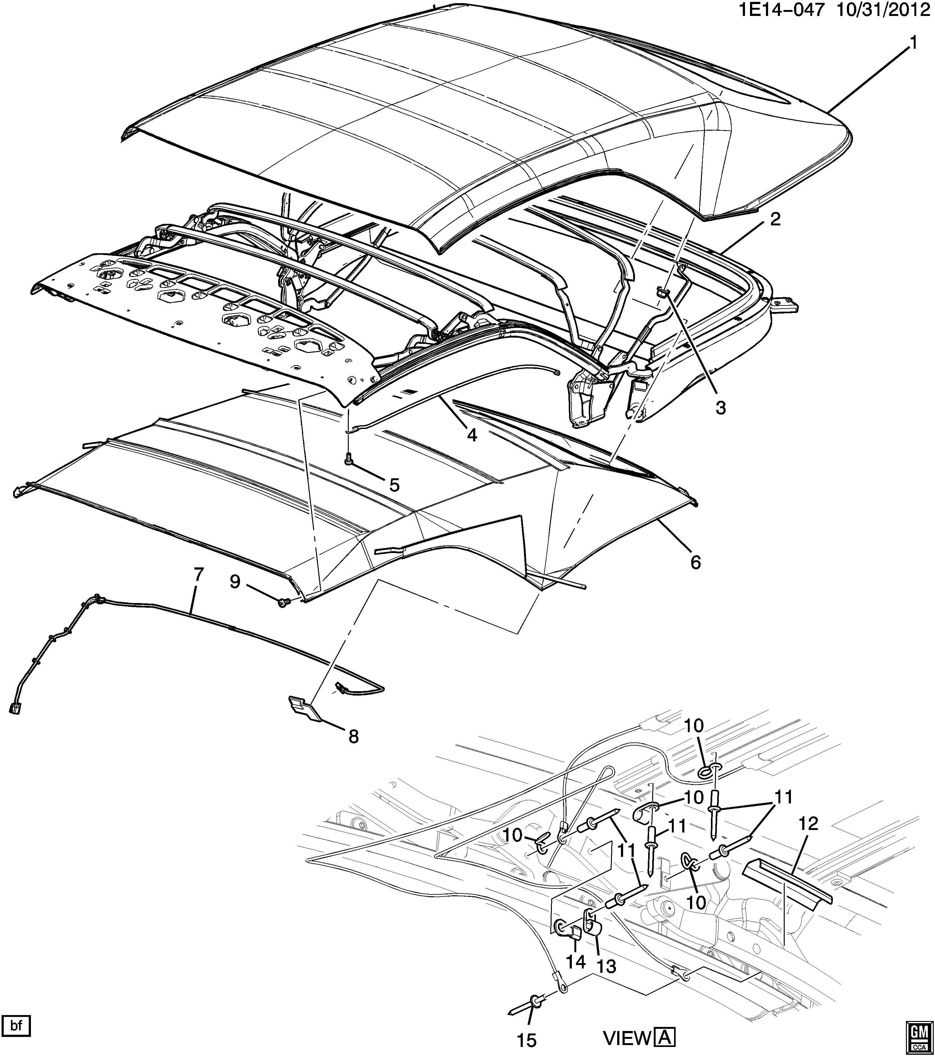 Camaro Part Diagram