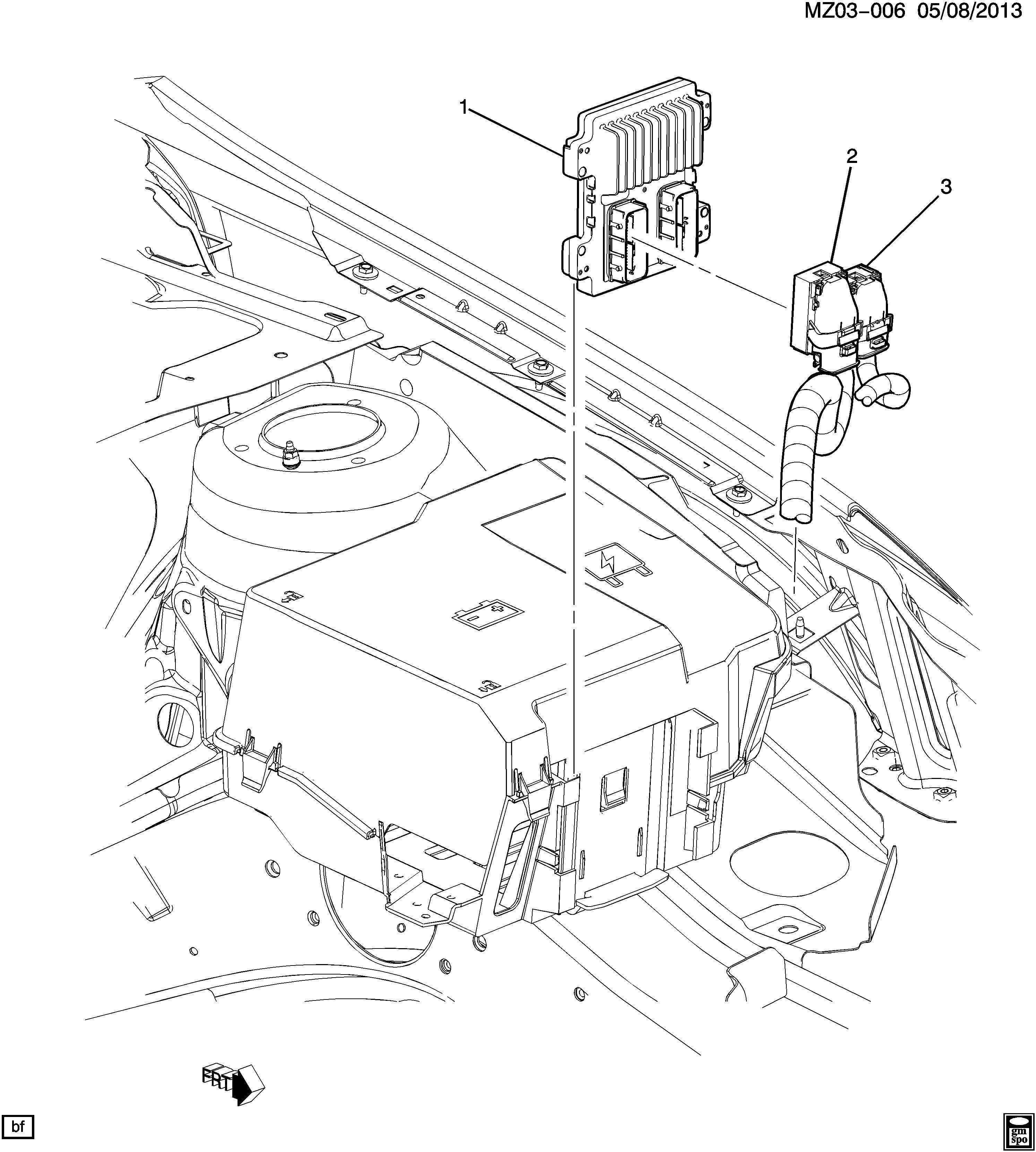 Pontiac G6 E C M Module Amp Wiring Harness