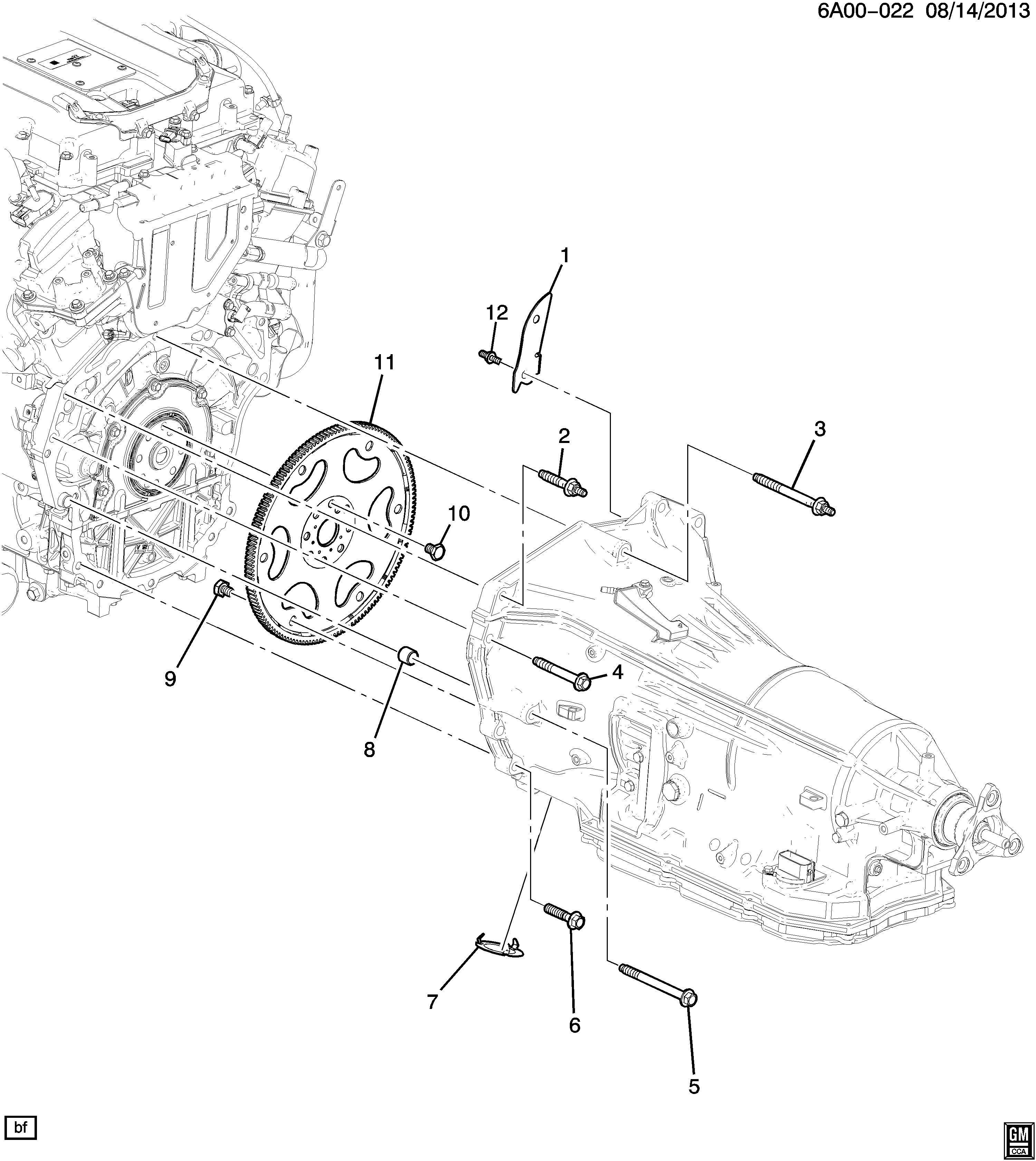 Chevrolet Camaro Lt 1lt 2dr Bolt Transmission