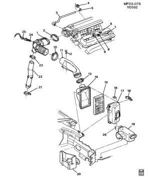 Need vacuum diagram 1993 LT1  LS1TECH  Camaro and