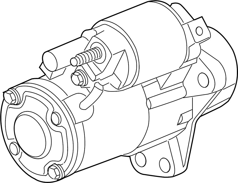 Chevrolet Captiva Starter Starter Motor Starter