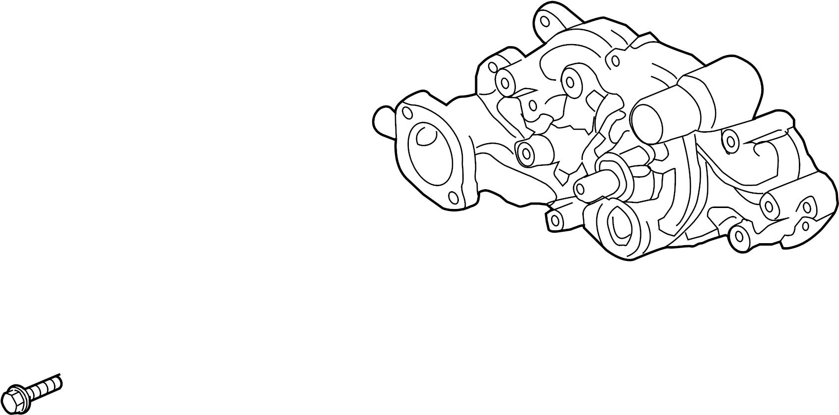 Chevrolet Corvette Gt1 Special Pump Kit Engine Coolant