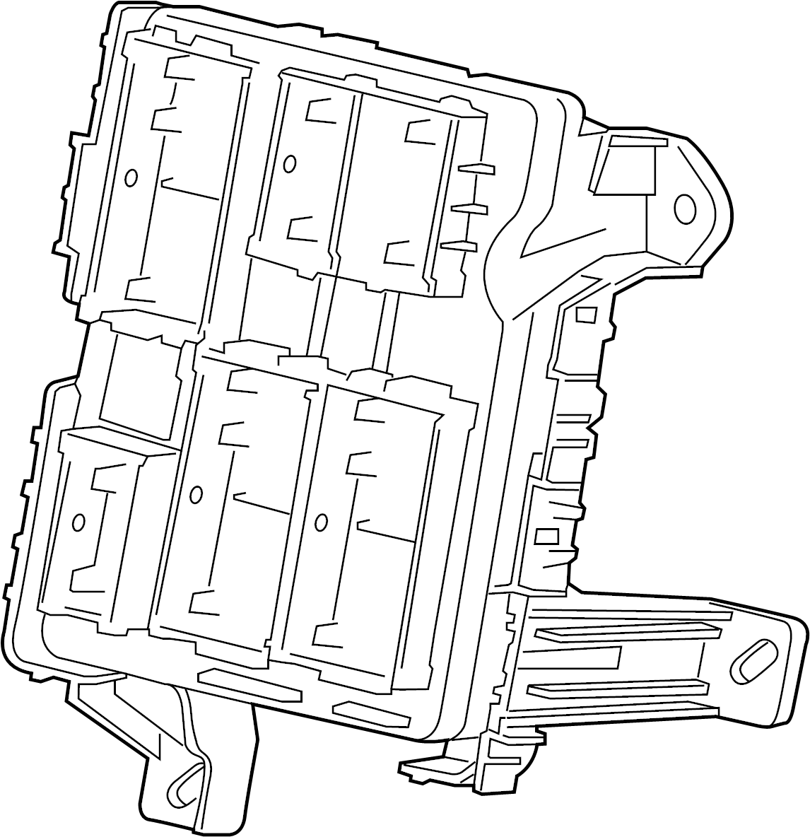 Chevrolet Tahoe Block Wiring Junction Block Body Wrg