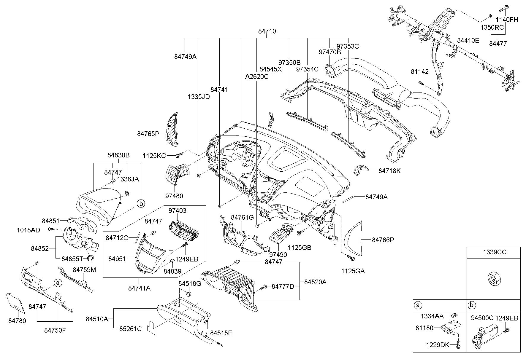 Hyundai Accent Cover Assembly
