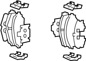 5810139A60  Hyundai Pad kit  front disc brake