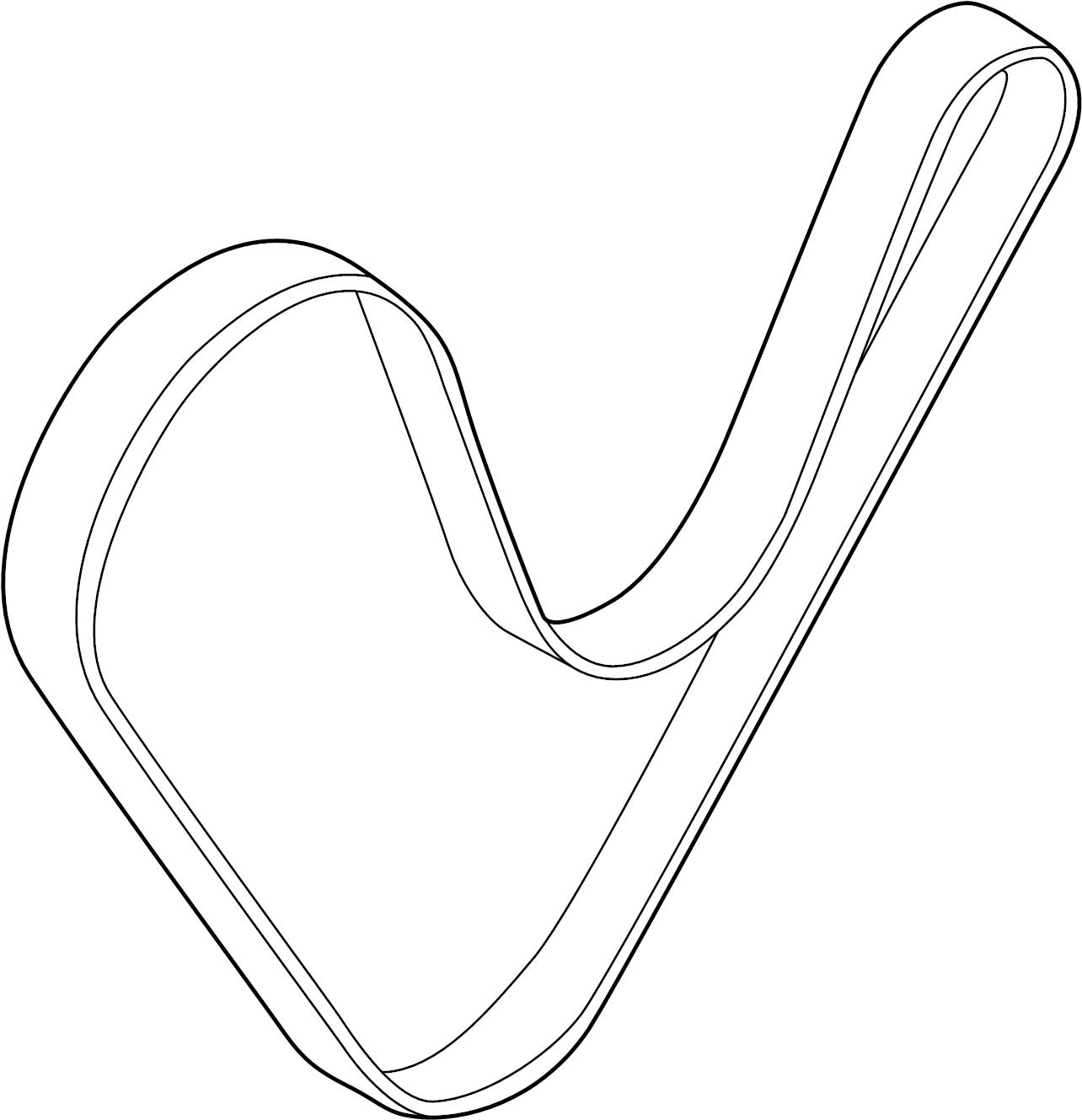 Hyundai Tucson Ribbed Belt