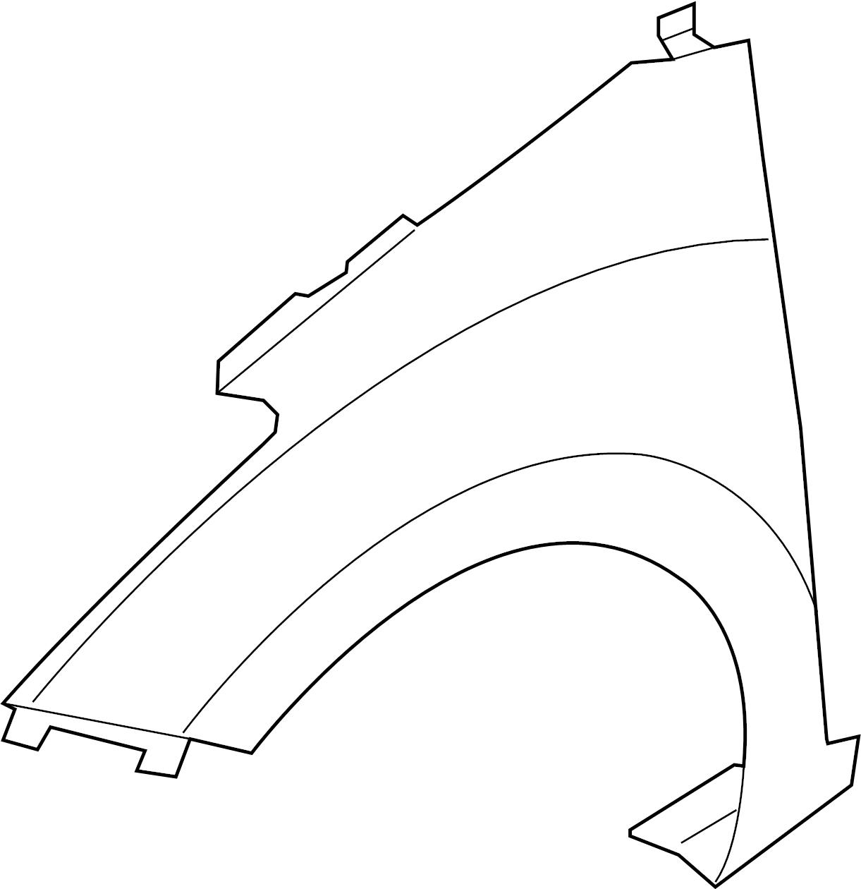 Hyundai Elantra Gt Fender Assembly Panel