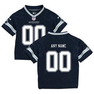 Infant Dallas Cowboys Nike Navy Custom Game Jersey