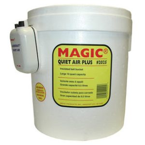 10qt Magic Products  Quiet Air Plus Foam Bucket with Aerator