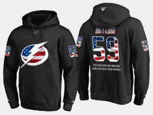 Lightning #59 Jake Dotchin NHL Banner Wave Usa Fla cheap Jake Arrieta jersey wholesale