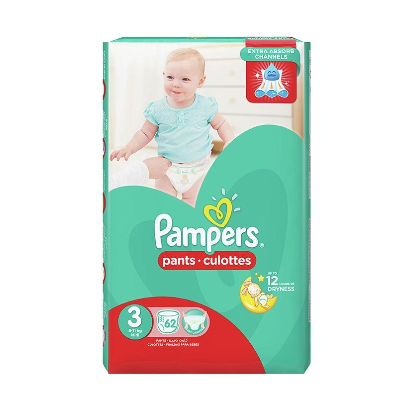 9aea4a67450e Pampers Pants Jumbo Pack Size 3 62pcs (2pack)