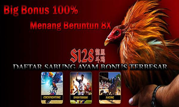 Daftar Sabung Ayam Bonus Terbesar di Indonesia