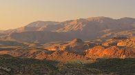 desert landscape for rv travelers