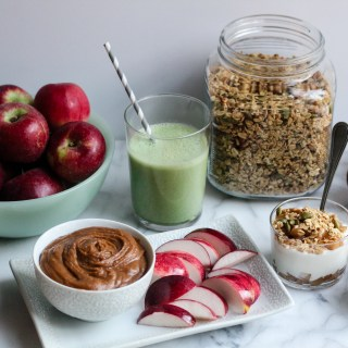 Healthful Snacks with Apples | wholesomefamilykitchen.com
