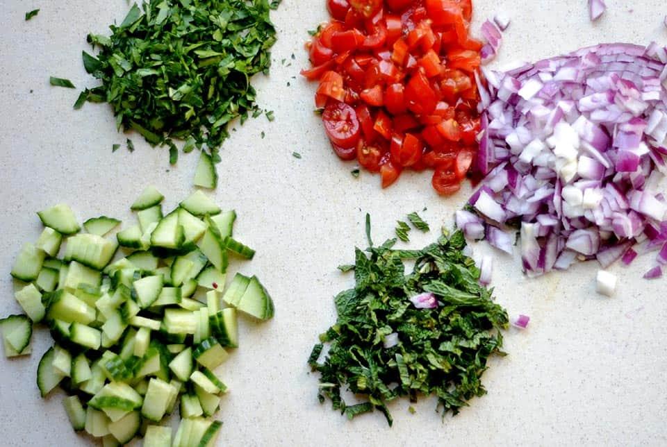Cauliflower Rice Tabbouleh 4