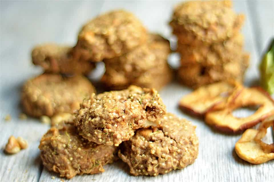 Apple Zucchini Bread Breakfast Cookies 2