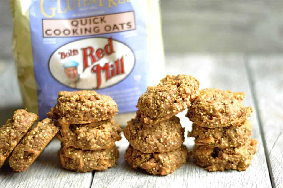 Apple Zucchini Bread Breakfast Cookies 3