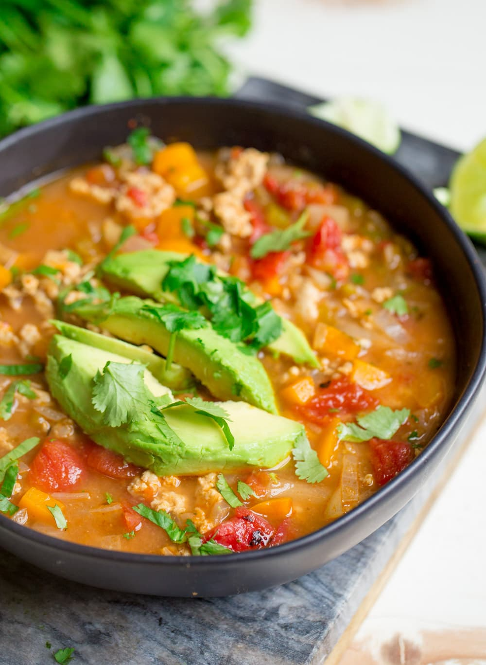 Ground Turkey Instant Pot Meals . Instant Pot Ground Turkey Taco Soup - Wholesomelicious