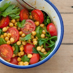 Wholesome Chickpea Chaat