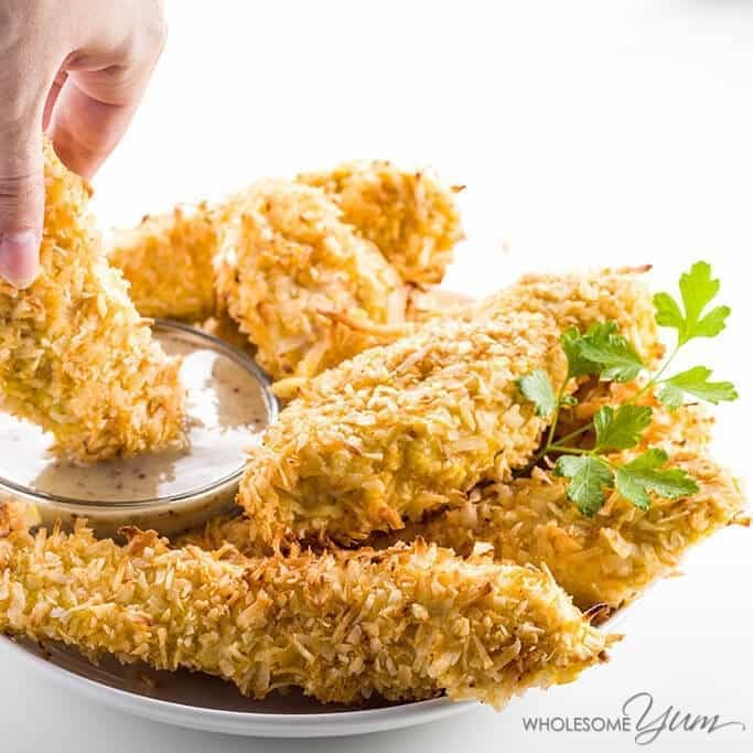 https://i1.wp.com/www.wholesomeyum.com/wp-content/uploads/2015/10/wholesomeyum_baked-coconut-chicken-tenders-low-carb-paleo-1.jpg
