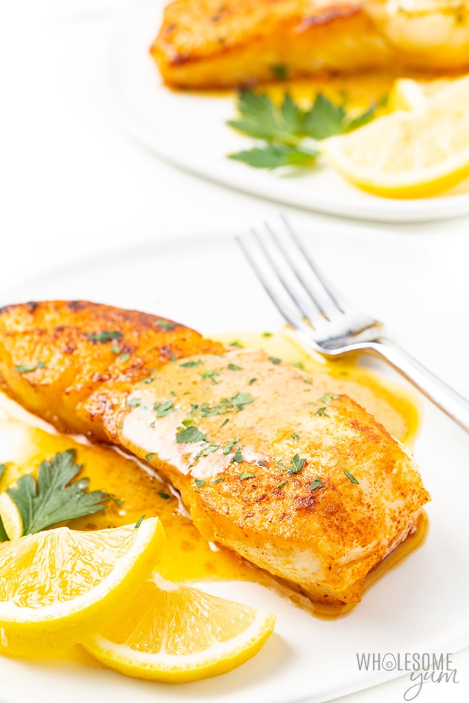 Easy Pan Seared Halibut