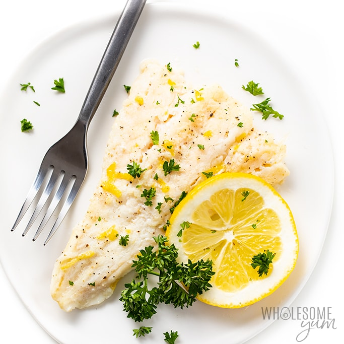 Lemon Baked cod - Keto fish meals