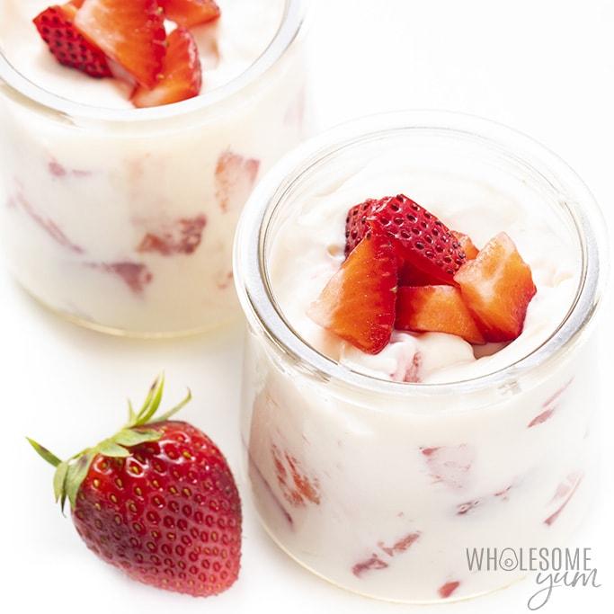 Sugar-Free Strawberry Fluff
