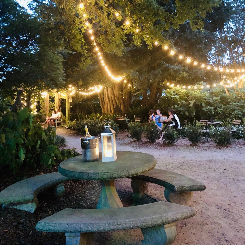 Rosie's Wine Garden used to be called McGill's Rose Garden in NODA, Charlotte, NC.