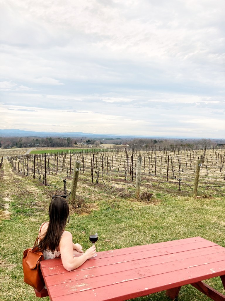 Yadkin Valley vineyards