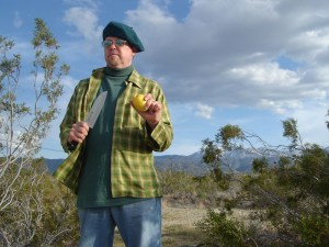Survival Chef Mason Green in the high desert