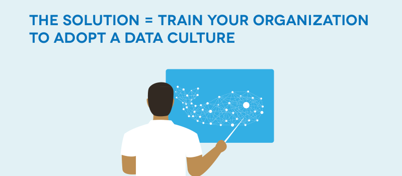 Solution to data fiefdom: Building a data culture
