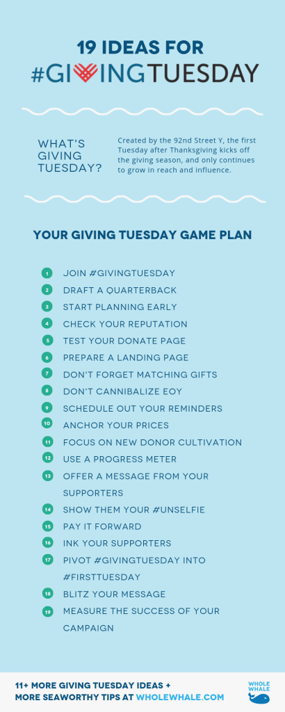 Giving Tuesday Ideas