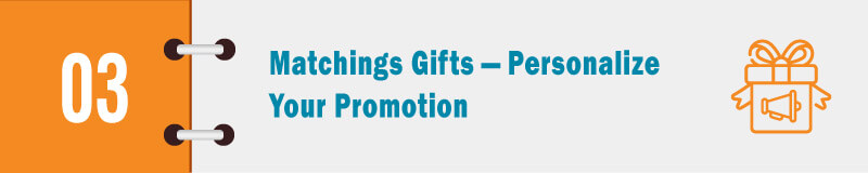 personalize your promotion